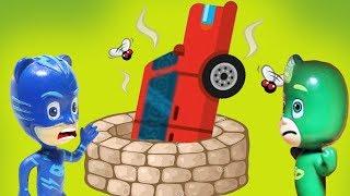 Мультики для детей с игрушками. Герои в масках - Сюрприз! Мультфильмы про машинки новые серии 2018