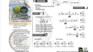 SERI 2 RAHASIA TAJWID #9 GUNNAH   Bengkel TAJWID Ladulla Albugisi