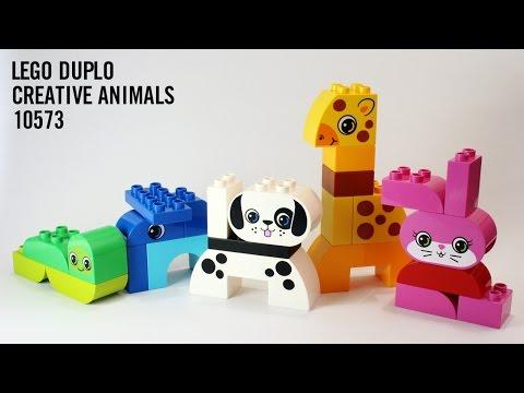 Vidéo LEGO Duplo 10573 : Animaux rigolos