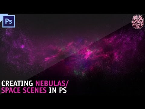 Tutorial: Creating a Nebula/Space scene in Photoshop by Qehzy