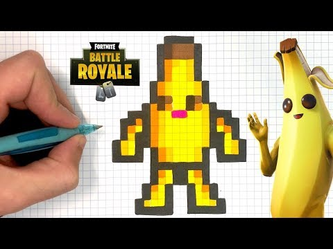 Pixel Art Fortnite Skin Facile Saison 7 Fortnite Anti