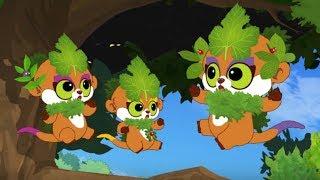 Юху и его друзья –Летучие мыши-вампиры - сезон 1 серия 11 – обучающий мультфильм для детей