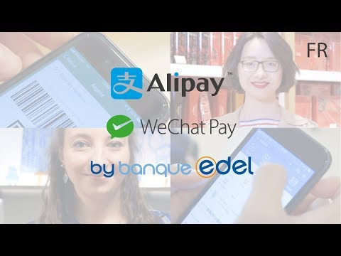 Alipay & WeChat Pay by Banque Edel - FR