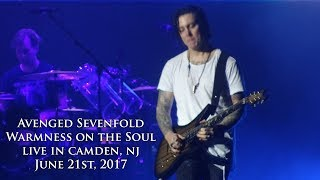 Avenged Sevenfold - Warmness on the Soul (Live in Camden, NJ 6/21/17)