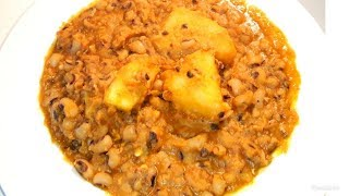 How To Cook Nigerian Beans And Yam Porridge