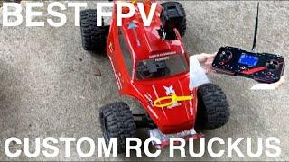 BEST FPV RC Custom Ruckus Go Pro Mod