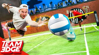 Combining Volleyball and Tennis Into One Sport!!