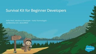 Survival Kit for Beginner Salesforce Developers - 1