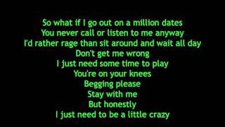 Avril Lavigne - What The Hell Lyrics
