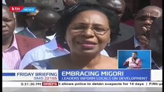 Kenya Women Leaders under Embrace banner pitched tent in Migori County