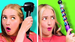 WEIRD BEAUTY AND HAIR GADGETS TESTED || 32 Beauty Tricks And Makeup Hacks For Girls