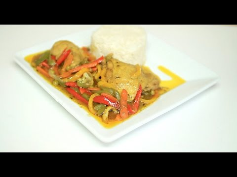 CHICKEN CURRY SAUCE WITH BASMATI RICE