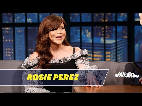 , title : 'Rosie Perez Was Taught Baseball By Nuns'