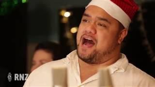 Sol3 Mio sing Mele Kalikimaka / Merry Christmas at RNZ