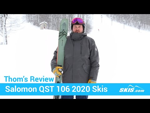 Video: Salomon QST 106 Skis 2020 20 50