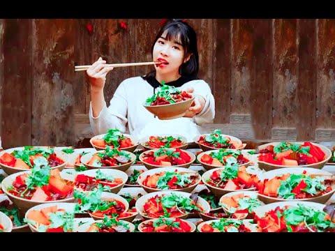 大胃王 全村第一吃貨消滅三十斤羊肉 Eat 30 kilograms of mutton in one meal