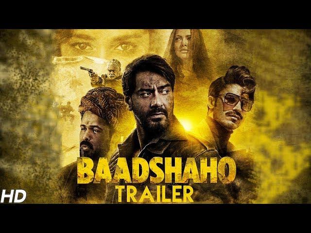 Baadshaho Theatrical Trailer | Emraan Hashmi, Ajay Devgn, Esha, Ileana