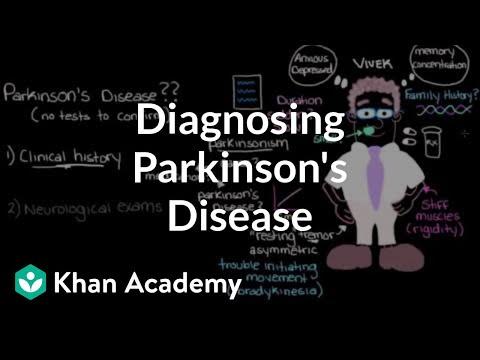 Video Diagnosing Parkinson's disease | Nervous system diseases | NCLEX-RN | Khan Academy