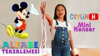 Ceylin-H | Mini Konser ALFABE TEKERLEMESİ - Nursery Rhymes & Super Simple Educational Kids Songs