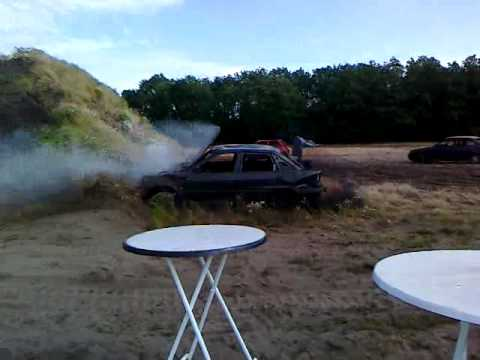 Auto cross in Wilbertoord