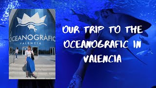 Visiting The Oceanografic In Valencia | Architecture, Aquarium And Greek Food | Little Owl Vlogs