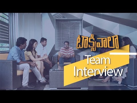 Taxiwala Movie Team Interview