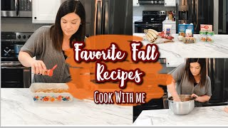 FAVORITE FALL RECIPES | 3 EASY RECIPES | FALL 2019 COOK WITH ME