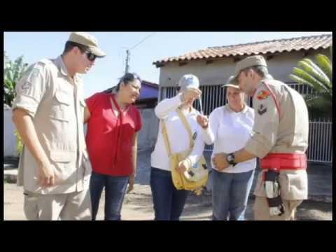 5º Manejo Ambiental em Anicuns - Goiás contra o Aedes
