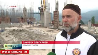 Продолжается строительство новой мечети в Беное