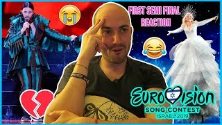 REACCIÓN Al CUADRO🤣 De La First Semi-Final Y El DRAMA De Portugal 💔🇵🇹 - EUROVISION 2019