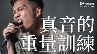 練高音!真音的重量訓練(音域拓展系列6)-唱歌技巧教學#15|SV科學歌唱 ft.富安
