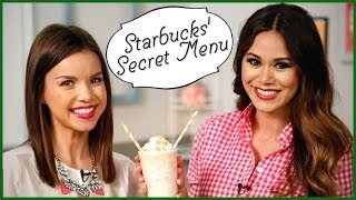3 Secret Starbucks Drinks You Can Make At Home! W/ Missglamorazzi | Eat The Trend