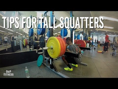 Tips for Tall Squatters