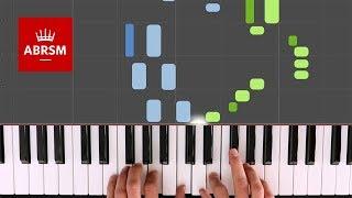Diversion / ABRSM Piano Grade 3 2019 & 2020, C:2 / Synthesia 'live keys' tutorial