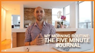 My Morning Routine: The Five Minute Journal