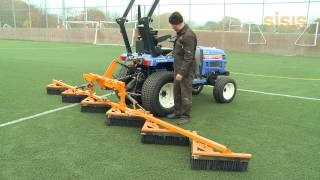 SISIS Flexibrush - Synthetic Turf Maintenance