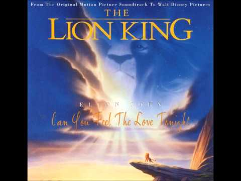 Elton John - Can You Feel the Love Tonight (Instrumental)