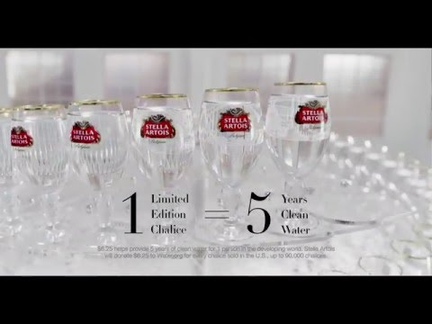 Stella Artois, and water.org Commercial (2016) (Television Commercial)