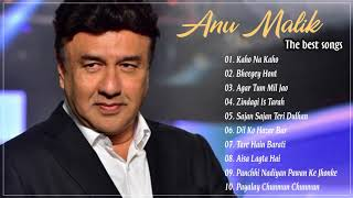 Hit songs Of Anu Malik - Bollywood Hits - Top 10 Songs - Indian Music Composer