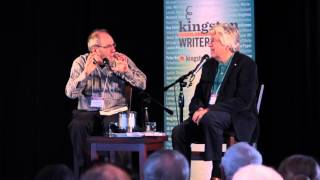 KWF Montcalm and Wolfe Event 2015 - Roch Carrier and Don Winkler
