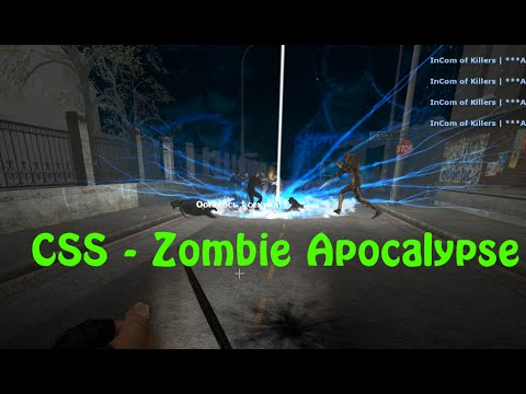 Играем в Counter Strike: Source - Zombie Apocalypse  (Silent Hill Map) [Full HD]