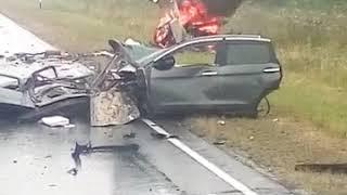 Авария на трассе Томск-Мариинск