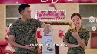 OSIM Christmas Gift Sets with Ah Boys to Men 4!