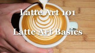 Latte Art Basics Tutorial - Latte Art 101 - Coffeefusion