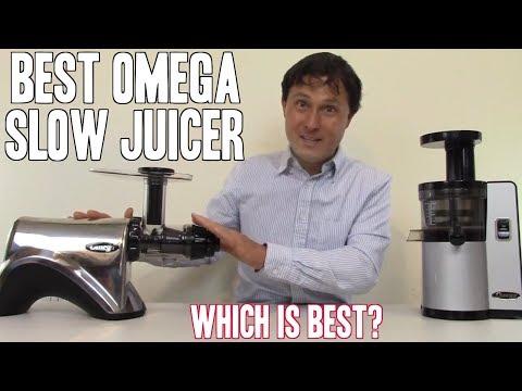 Best Omega Slow Juicer - Top 2 Juicers Compared & Reviewed