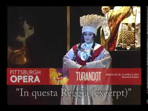 """""""In Questa Reggia"""" (Excerpt) from Puccini's Turandot -Pittsburgh Opera"""