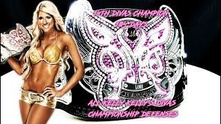 All Kelly Kelly's Divas Championship Defenses