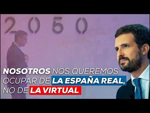 Nosotros nos queremos ocupar de la España real, no de la virtual