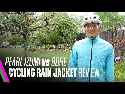 Pearl Izumi Barrier WxB vs Gore Element GT AS Rain Jacket Review / Comparison