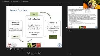 Seminario web FAO / INFOODS sobre la calidad de los datos de composición de alimentos